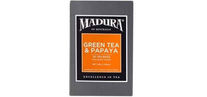 Madura Green Tea Papaya
