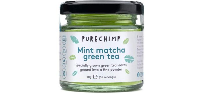 PureChimp Mint Matcha Green tea