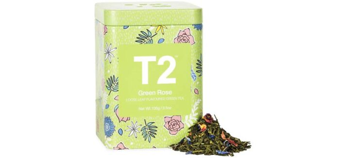 T2 Tea Green Rose Green Tea